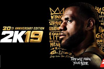 LeBron James Named NBA 2K19 20th Anniversary Edition Cover Athlete
