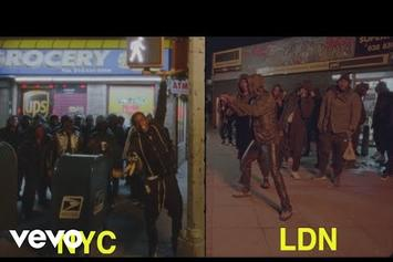 "A$AP Rocky & Skepta Mob Through NYC & London In ""Praise The Lord"" Video"