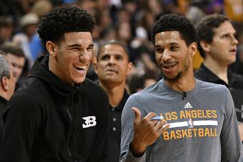 Lonzo Ball Gets Roasted For Working Out To His Own Music