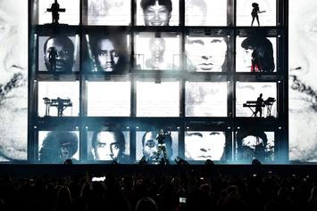 "Jay-Z Uses Mugshots of Nicki Minaj, Meek Mill, 50 Cent & More During ""OTR II"" Tour"