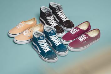 "Vans Launches Unisex ""Color Theory"" Collection"