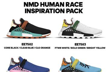 Pharrell x Adidas NMD Hu: New Colorways Coming This Fall