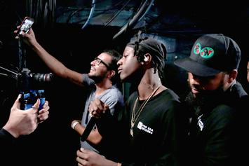"Joey Bada$$ Shouts Out Logic In ""Amerikkkana Tour"" Video Journal"