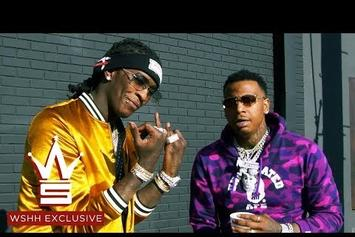 """Young Thug & Moneybagg Yo Party At The Grow-Op In """"Mandatory Drug Test"""" Video"""