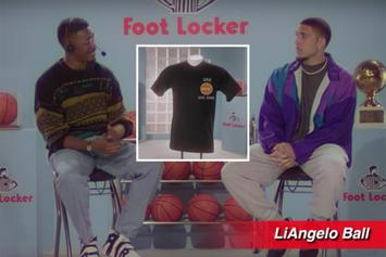 LiAngelo Ball Featured In Hilarious New Foot Locker Ad
