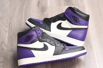 "Air Jordan 1 ""Court Purple"" To Release This Year"