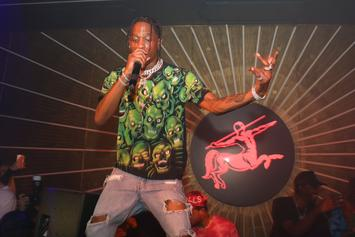 Travis Scott Performs Medley Of Hits At NBA Awards Show
