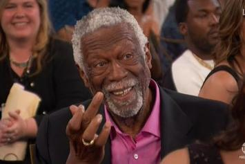 Bill Russell Flips Off Charles Barkley On Live TV At NBA Awards