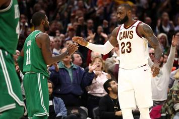 "Kyrie Irving: ""The NBA MVP Was Definitely LeBron"""