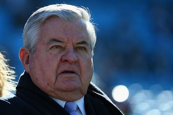 NFL Fines Former Panthers Owner Jerry Richardson $2.75M