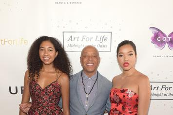 Russell Simmons' Daughter Vows To Ignore Trolls Who Make Her Feel Insecure