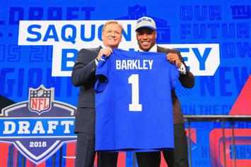 "Saquon Barkley Following ""Marshawn Lynch Method"" With His NFL Salary"