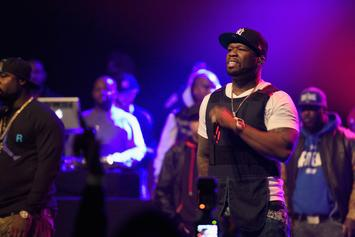 """50 Cent's Performance Steals The Show At """"Power"""" Premiere"""