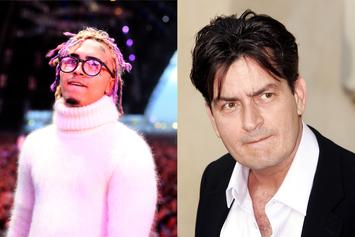Lil Pump & Charlie Sheen Preview Their Music Video Collaboration