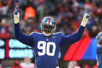 Jason Pierre-Paul Issues Fireworks Warning With Bloody Photos Of His Hand