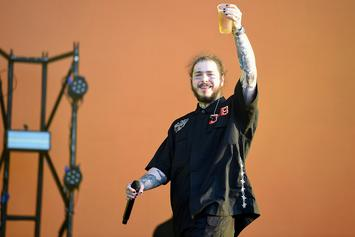 "Post Malone Explains Why He Got ""Always Tired"" Face Tattoo"