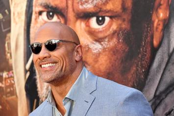 Dwayne The Rock Johnson Jokes About Not Being Able To Make White Babies