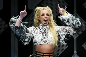 Britney Spears Has Two Minute Nip Slip While Performing In Maryland