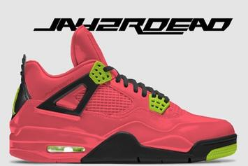 "Air Jordan 4 ""Hot Punch"" Rumored To Release"