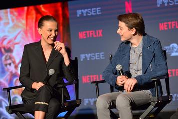 """Stranger Things"" Stars Millie Bobby Brown & Noah Schnapp Try ""In My Feelings"" Challenge"