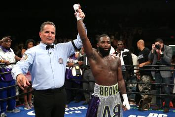 "Adrien Broner Says: ""If Blac Chyna Can Date 18-Year-Old"" He Can Beat One Up"