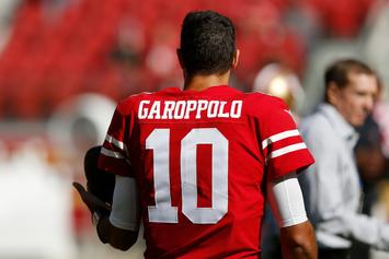 49ers QB Jimmy Garoppolo Goes On Spicy Date With Adult Film Star Kiara Mia