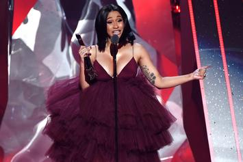 """Cardi B Asks """"Who Want The Smoke?"""" With New Meme-Worthy Photo"""