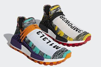 "Pharrell x Adidas NMD Hu ""Solar Pack"" Release Details Announced"
