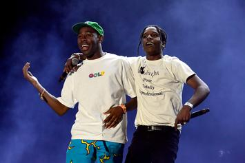 """A$AP Rocky & Tyler The Creator Tease Joint Project """"WANG$AP"""""""