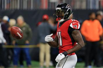 Falcons' Julio Jones Won't Report To Training Camp