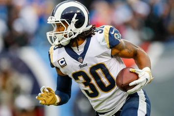 Rams, Todd Gurley Agree To Extension With $45M Guaranteed