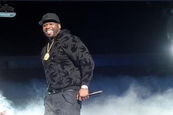 50 Cent Remains Silent When Asked About Floyd Mayweather