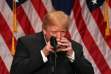 Trump Requests A Coke To Quench His Thrist While Paying Off Playboy Model