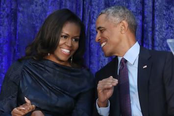 Barack & Michelle Obama Seen Dancing At Jay Z & Beyoncé Show