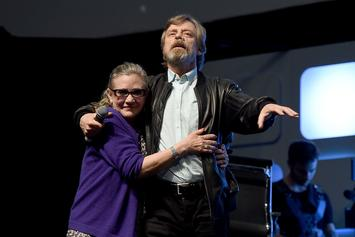 """Mark Hamill Addresses Carrie Fisher Posthumous Appearance In """"Star Wars IX"""""""