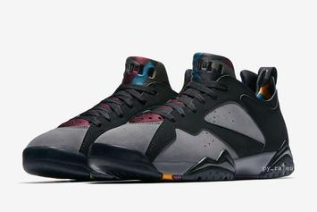 "Air Jordan 7 Low ""Bordeaux"" Coming Soon: Official Images"