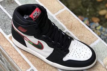 """Air Jordan 1 """"Sports Illustrated"""" New Images Surface"""