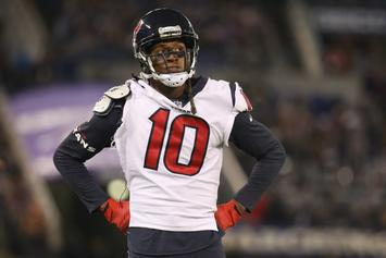 DeAndre Hopkins Gets In Fight With 49ers' Jimmie Ward: Video