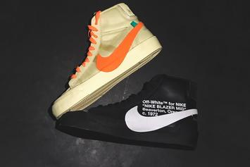 Virgil Abloh Confirms Halloween-Themed Off-White x Nike Blazers