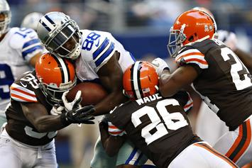 Dez Bryant Is Already Signing Cleveland Browns' Apparel For Fans
