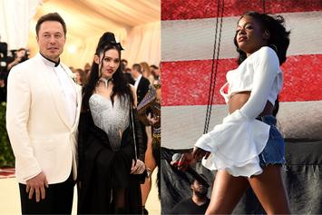 "Elon Musk ""Has A Giant D*ck"": Azealia Banks Leaks Grimes' Text Messages"