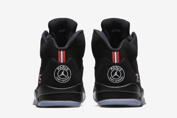 Paris Saint-Germain x Air Jordan 5 New Images & Release Details