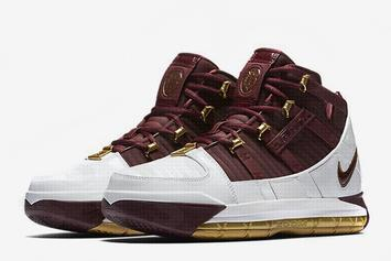 "Nike LeBron 3 ""Christ The King"" Rumored To Release For First Time"
