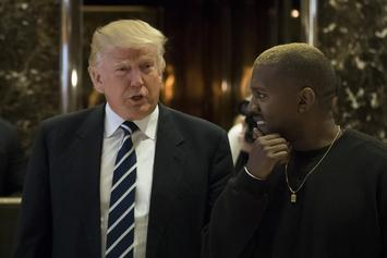 "Kanye West Finally Answers Trump Question: ""He Was Cool In The Rap Songs"""