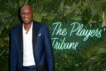 "Lamar Odom Spotted Leaving Miami Club With ""Three Or Four Women"""