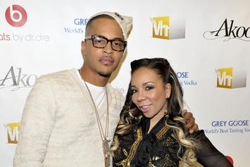 "T.I. & Tiny Reportedly Fight About Watching ""The Bobby Brown Story"""