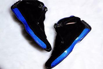 "Air Jordan 18 ""Black Sport Royal"" Images & Release Details Revealed"