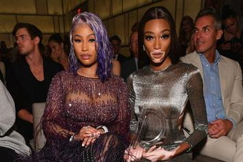 "Nicki Minaj Salutes Winnie Harlow For ""Breakthrough Model Of The Year"" Win"