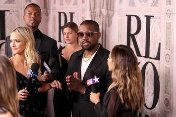Kanye West Forces A Reporter To Leave Ralph Lauren Party: Watch