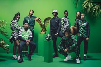 Nike's Nigeria World Cup Kit Nominated For Design Of The Year